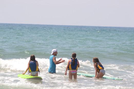 Extraescolares de Surf y Vela en Castelldefels
