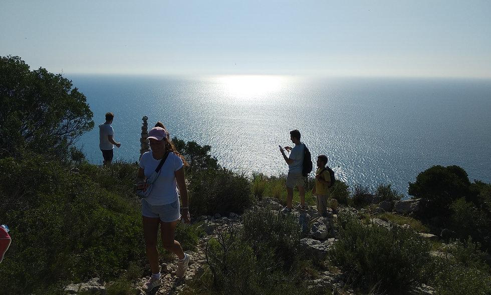 Hiking Junto al Mar en Privado, Parque Natural Garraf