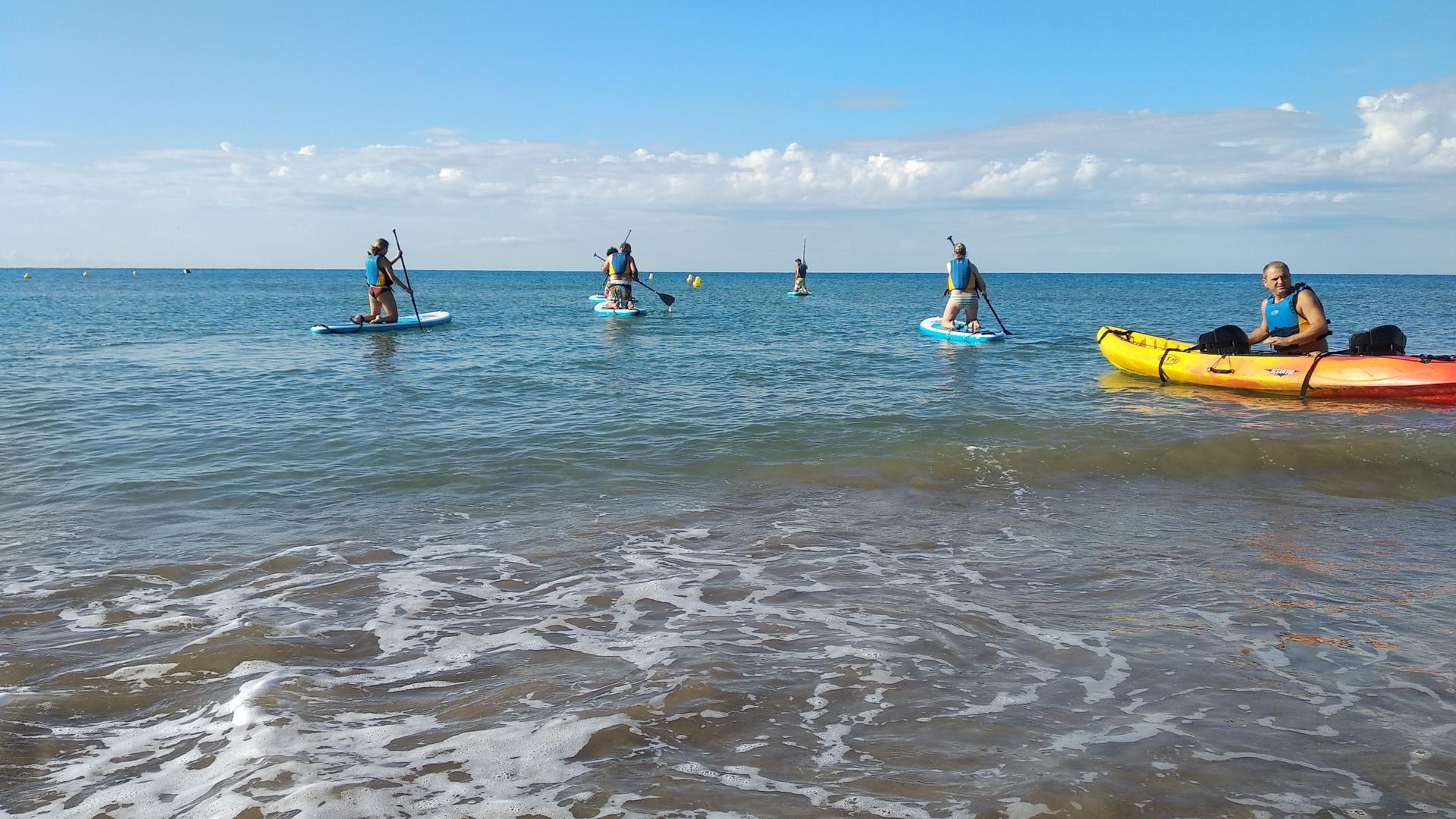 Kayak Castelldefels