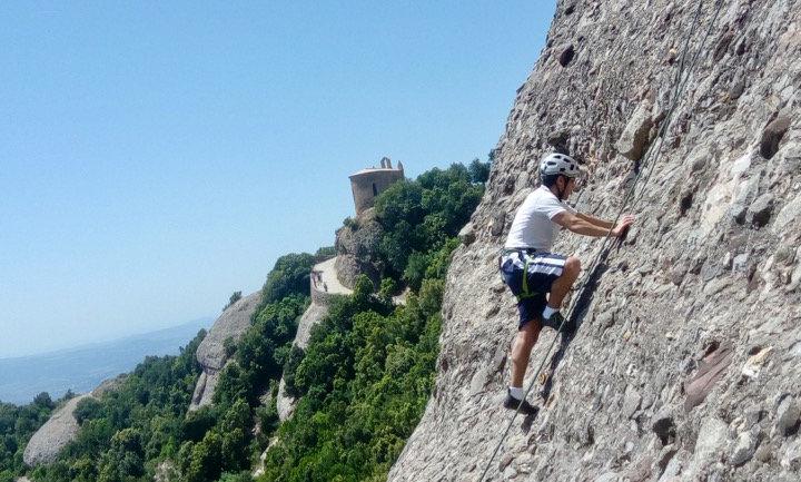 Rock Climbing Lesson or Session in Garraf Natural Park