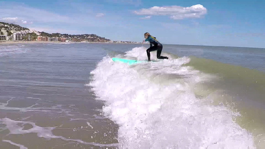 Surf Lesson in Castelldefels