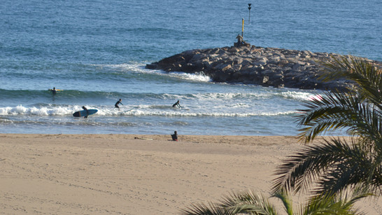 Surf Spot Castelldefels