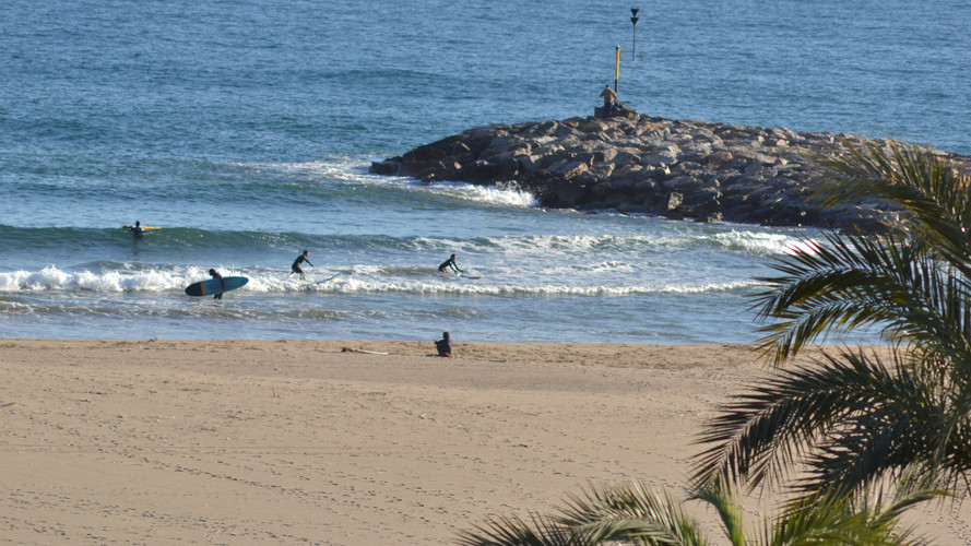 Surf Spot Castelldefels - Port Ginesta