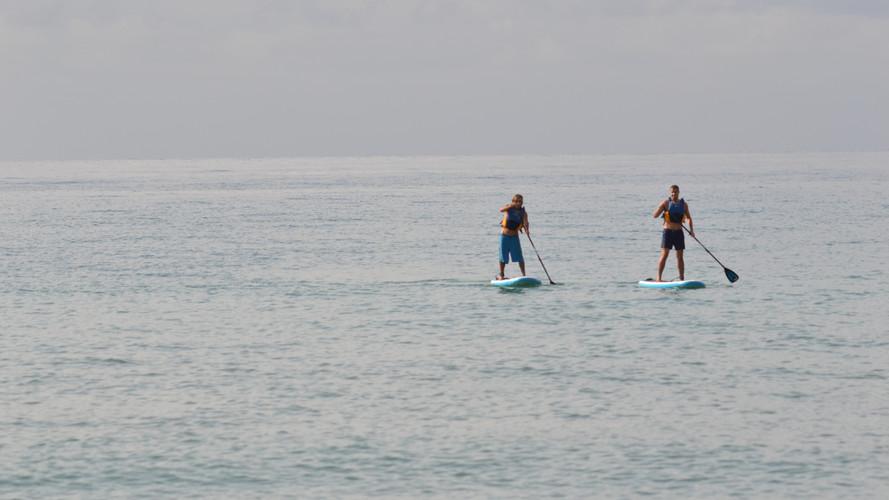 Easy going Paddlesurf