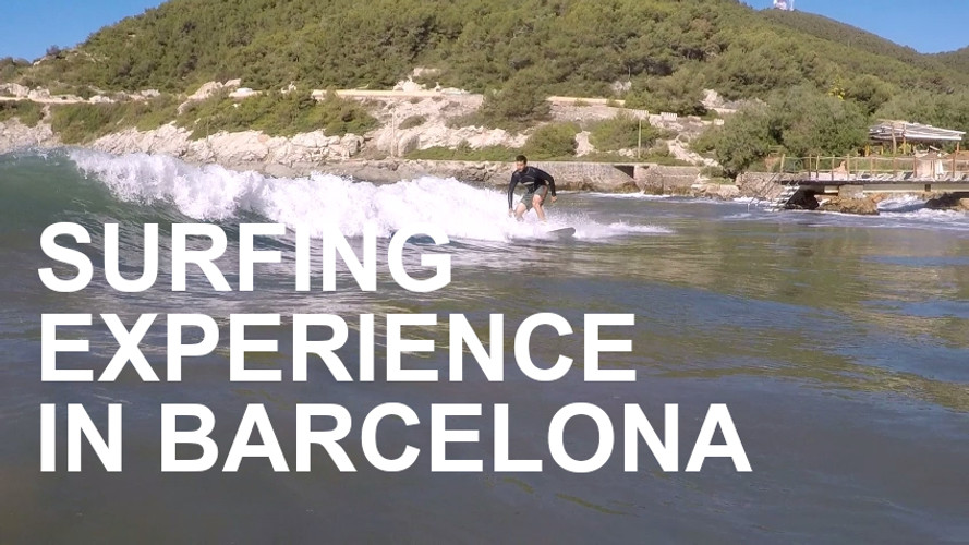 Surf Lesson in Barcelona.mp4