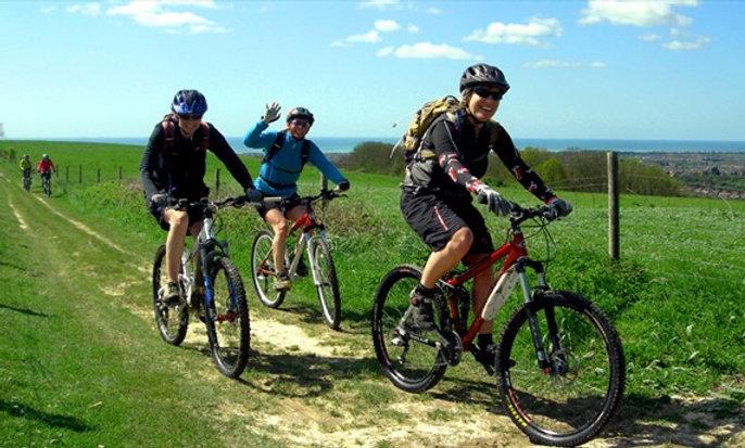 Guided Mountain Bike Tour in Garraf Natural Park