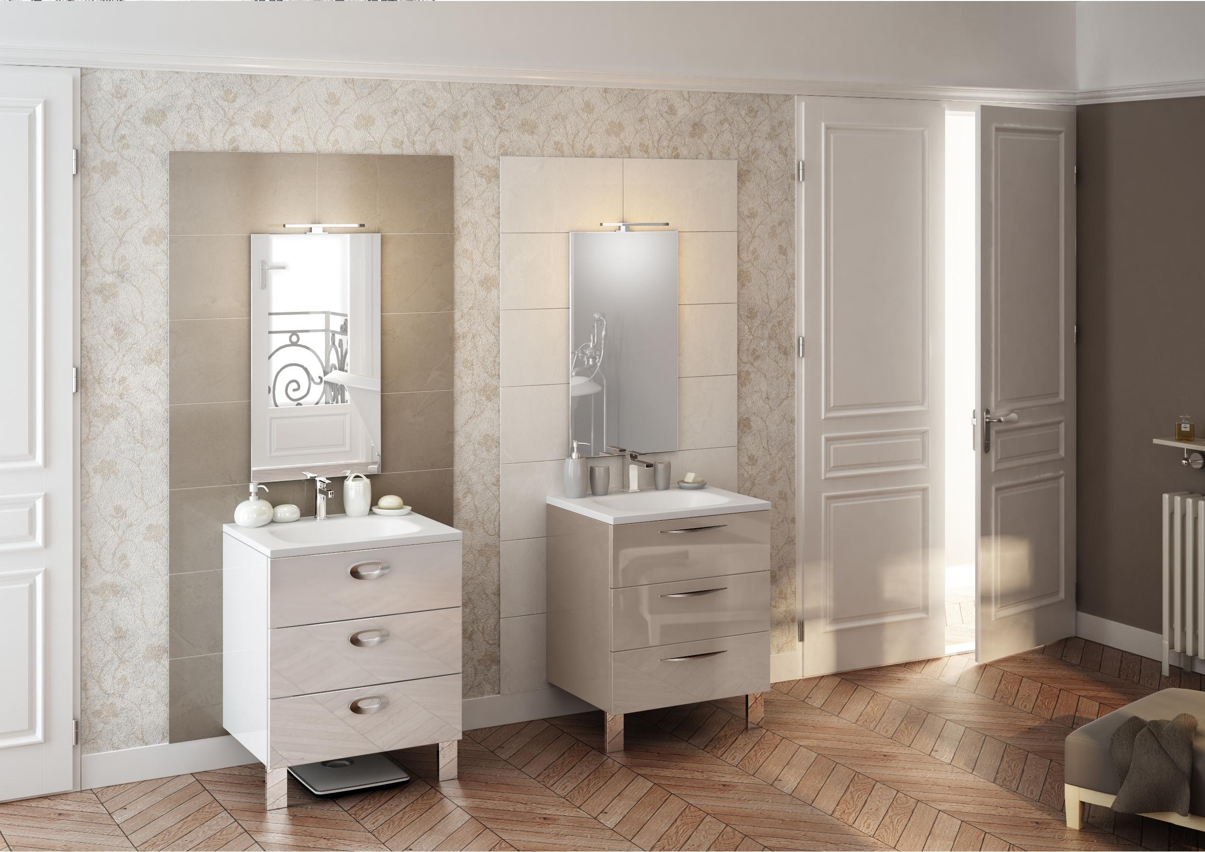 TRENDY - Cristal Blanc & Cristal Argile.