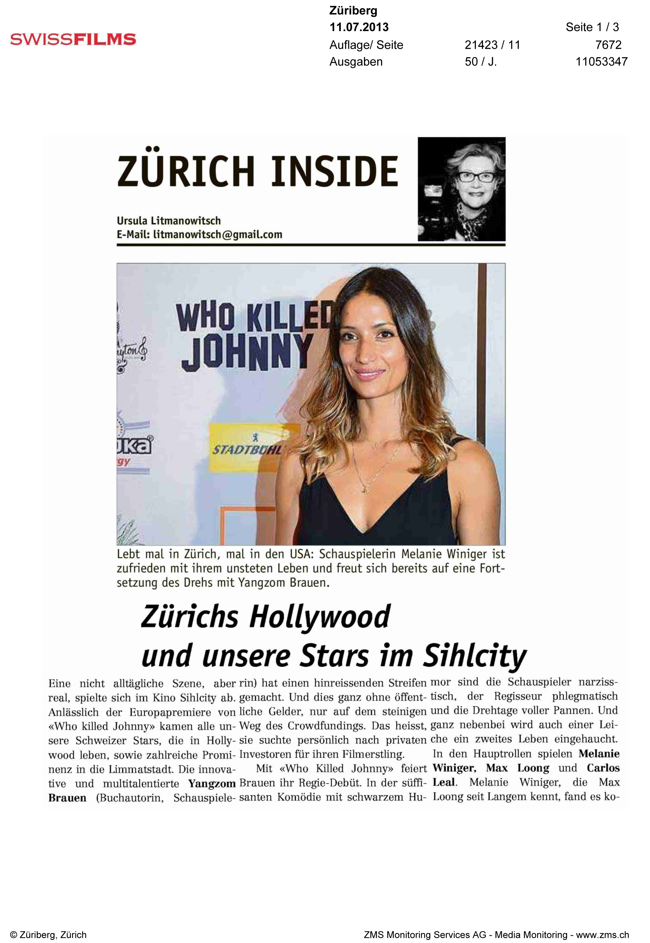 Zuriberg Newspaper