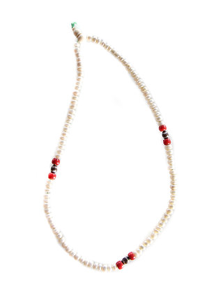 White Pearl Mala