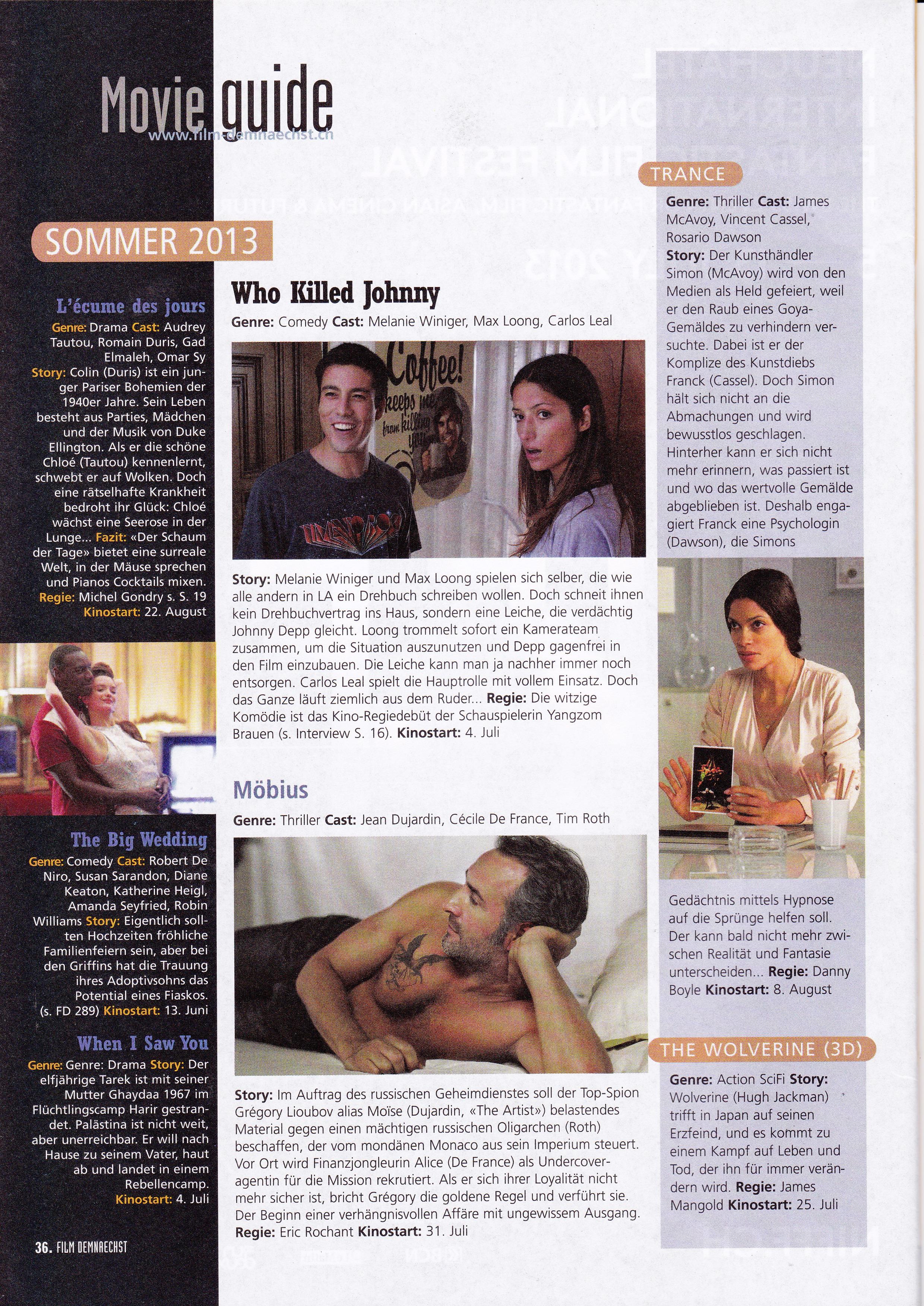 Film Demnaechst Magazine