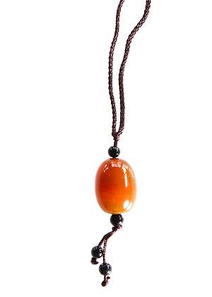 Dark Orange Pendant