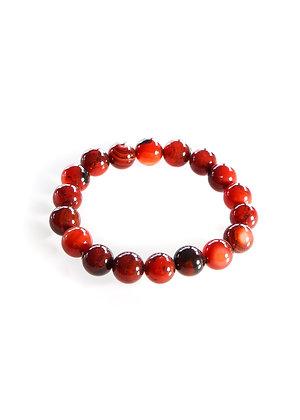Red Agate Stone Mala