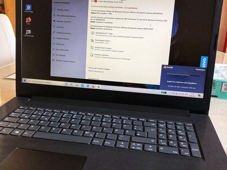 Laptop Einrichtung 💻