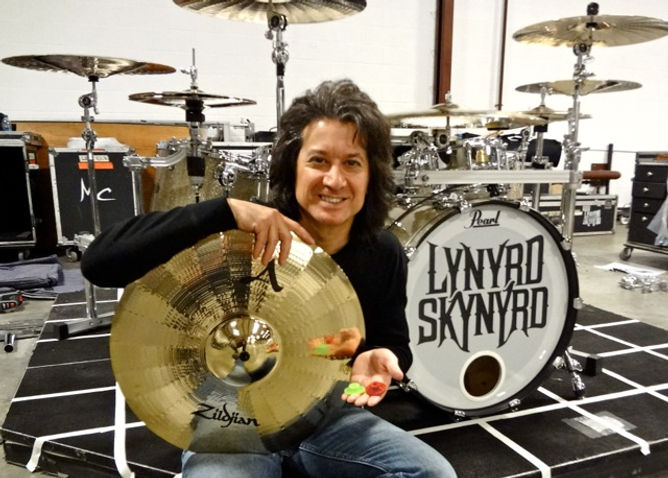 Micheal Cartellone jammin with the Grombal