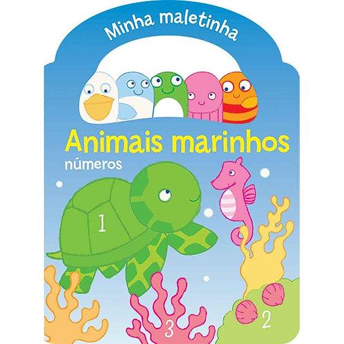 LIVRO MINHA MALETINHA ANIMAIS MARINHOS 9789462444805