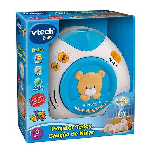 PROJETOR MUSICAL TEDDY CANCAO DE NINAR VTECH BABY 801000