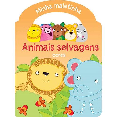 LIVRO MINHA MALETINHA ANIMAIS SELVAGENS 9789462444782