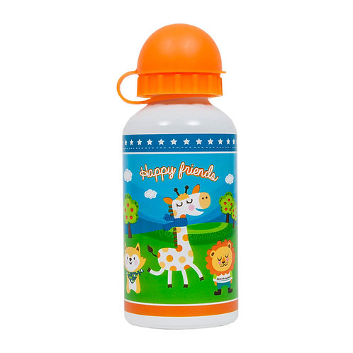 GARRAFINHA 400 ML HAPPY FRIENDS BUBA