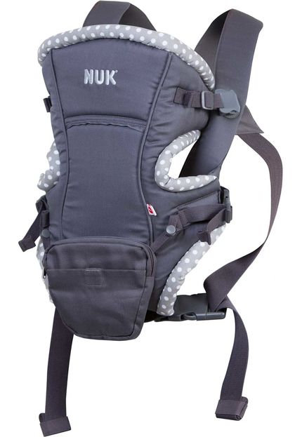 CANGURU BABY CARRIER NATURAL FIT 3 EM 1 PRETO NUK