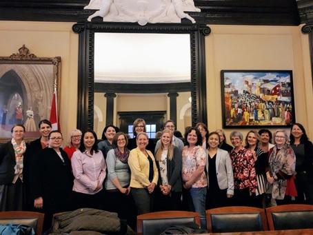 Federal MP Ottawa-Vanier, Mona Fortier, Hosts Parliament Building Visit