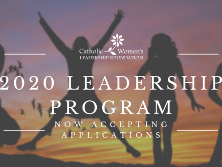 Call for Candidates for 2020 Cohort