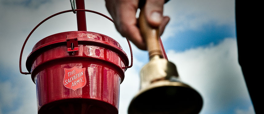 The Salvation Army donation buckets (from salvationarmyusa.org)
