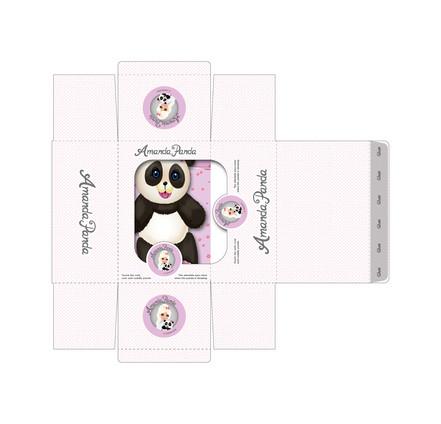 Packaging for Amanda Panda