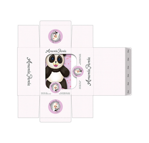 Packaging for Amanda Panda