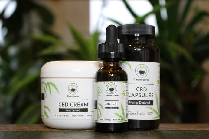 CBD Products Label