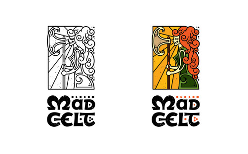 Mad Celt Logo Design