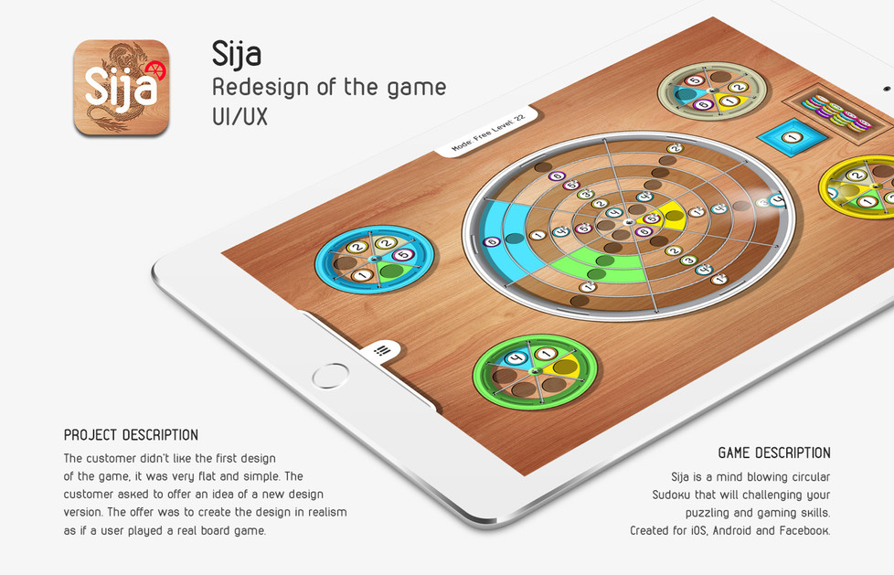 iOS/Android Game redesign