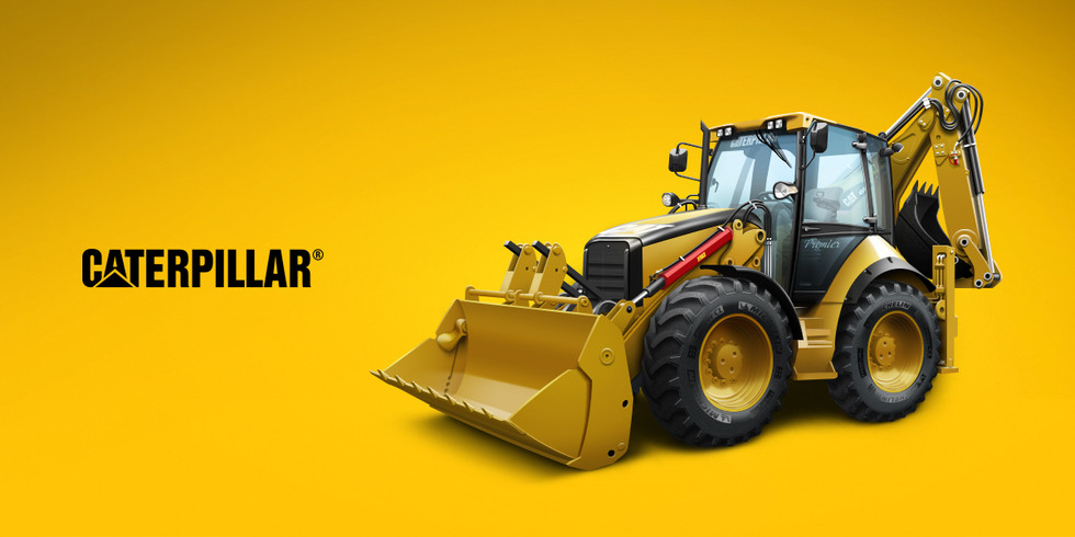Tractor Caterpillar Advertisement