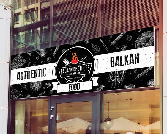 Balkan Brothers BBQ banner