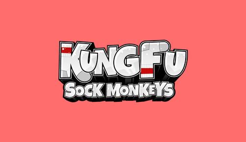 Logo Kung Fu Sock Monkeys
