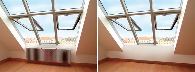Infravykurovacie strešné okno Solara TG® 02