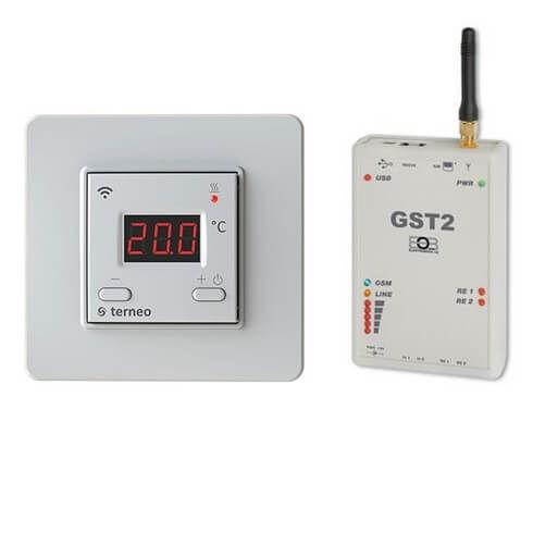 PION ThermoGlass - ponuka WiFi + GSM termostatov