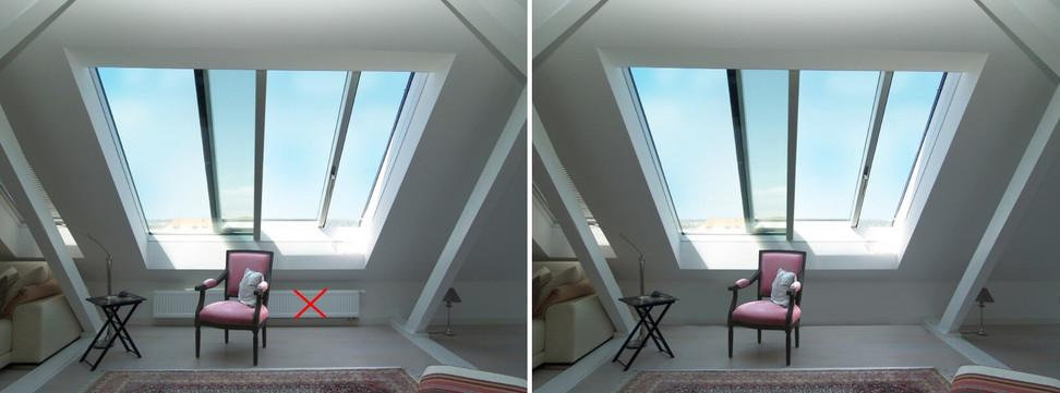 Infravykurovacie strešné okno Solara TG® 04