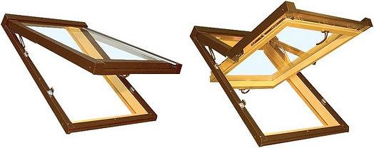 Vykurovaie strešné okno Solara TG Praktik