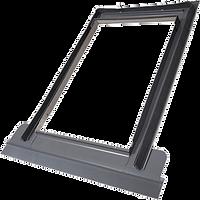 Lemvanie pre profilovanú krytinu pre vykurovacie steršné okno Solara TG® Lido