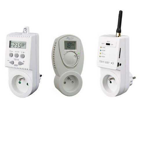 PION ThermoGlass - ponuka zásuvkových termostatov