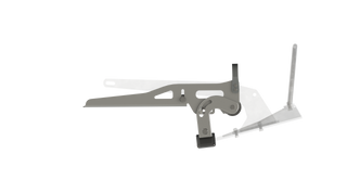 Profile View BR1 Bow Roller Anchor Faded