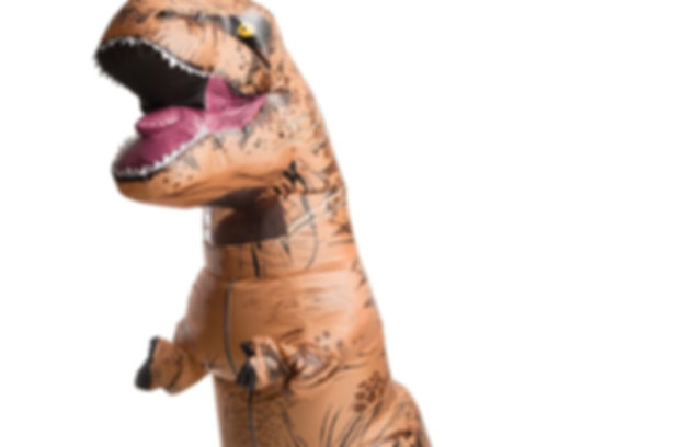 Jurassic TRex Blowup Inflatable Dancing Dinosaur Telegram Delivery