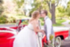Colorado Wedding Photography | Britni Girard Photography | Nostalgic Wedding Vintage Convertable