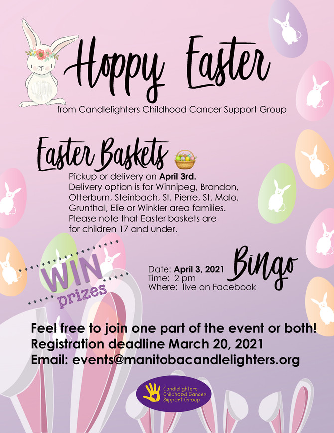 DON'T MISS OUT ON THE EASTER BUNNY!