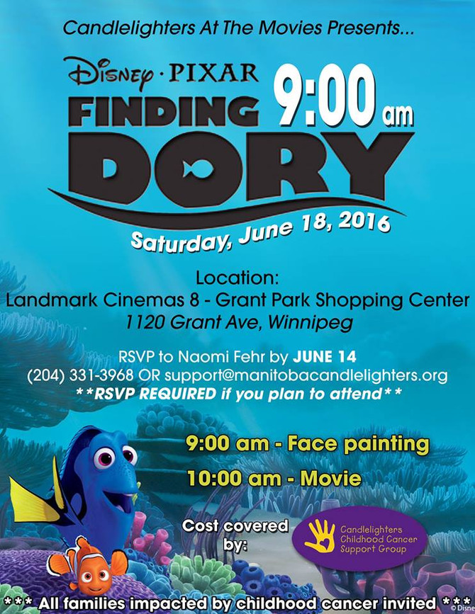 FINDING DORY!!!!