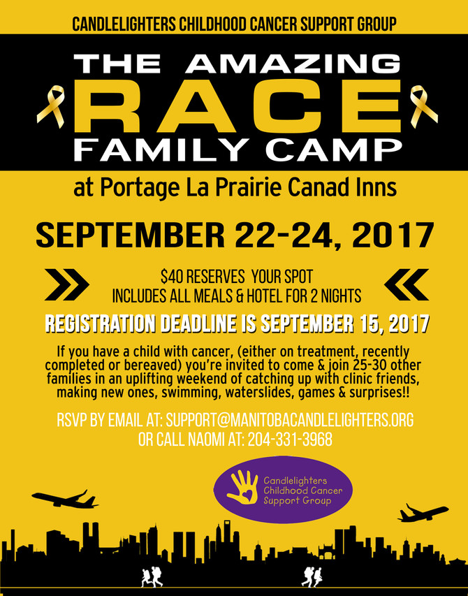 AMAZING RACE FAMILY CAMP!!