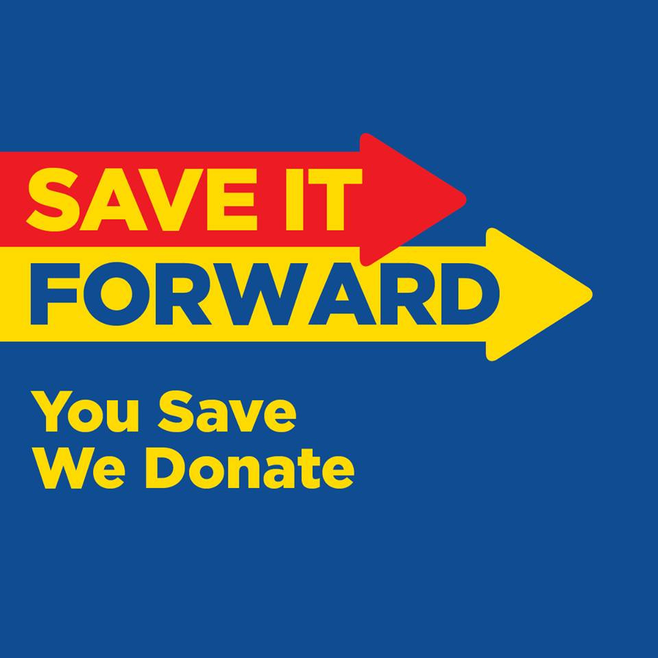 We would like to express our sincerest appreciation to Loblaws/Superstore Winkler for your continued support in the SAVE IT FORWARD program. We just received another donation of $647.66