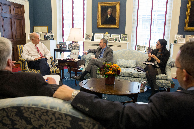 VP Biden's West Wing office