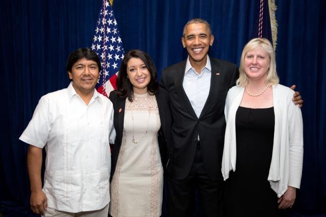 The Contreras Family and POTUS 44