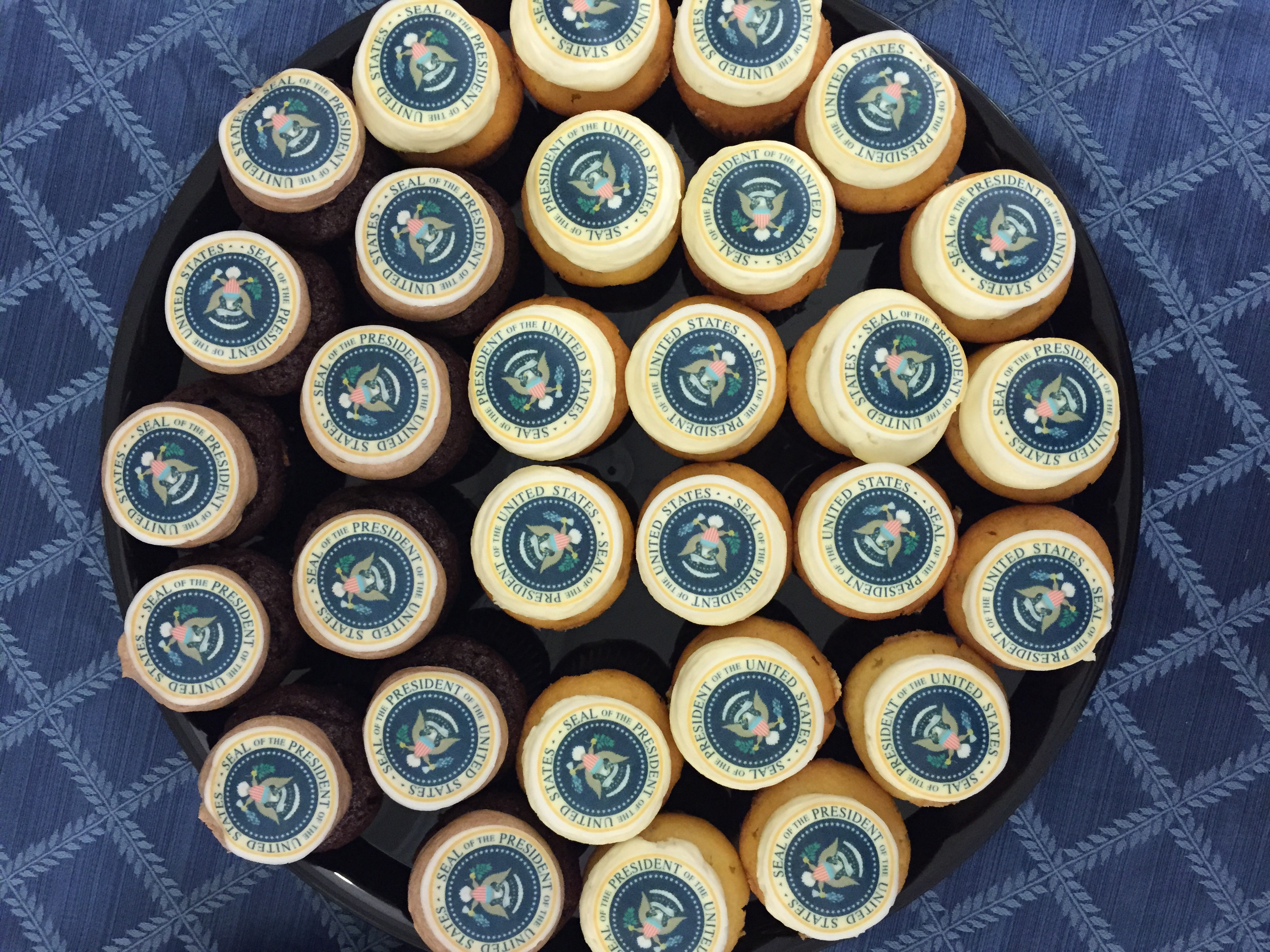 POTUS cupcakes